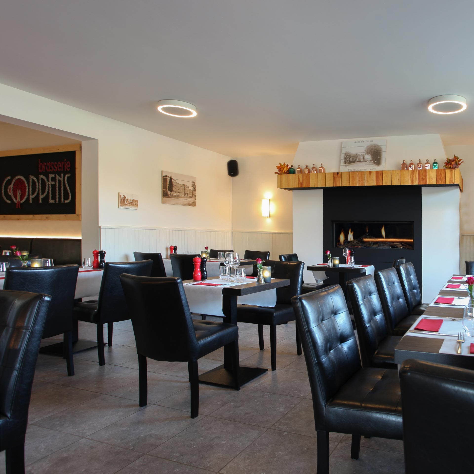 Interieur Brasserie Coppens